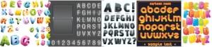 Alfabeto e Numerais